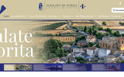 Albalate de Zorita estrena Web municipal