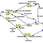 Plano de rutas - Como llegar